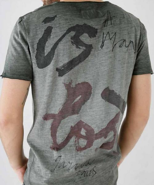 Чоловічі футболки з принтом  за чи проти  39842a7a1b4c8